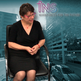 Sophia Symeou, CEO of INS Career Management