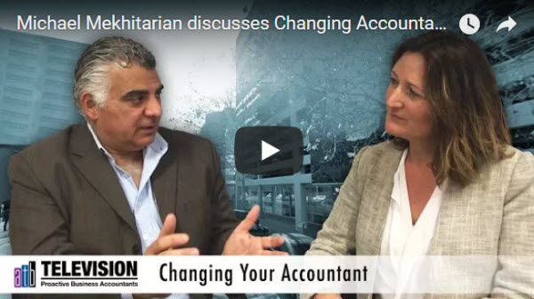 Changing your Accountant