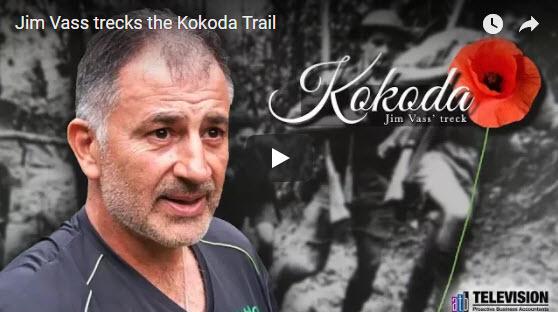 Jim Vass trecks the Kokoda trail