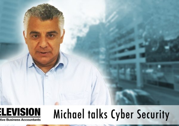 Michael talks Cyber Security