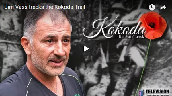 Jim Vass trecks the Kokoda Trails