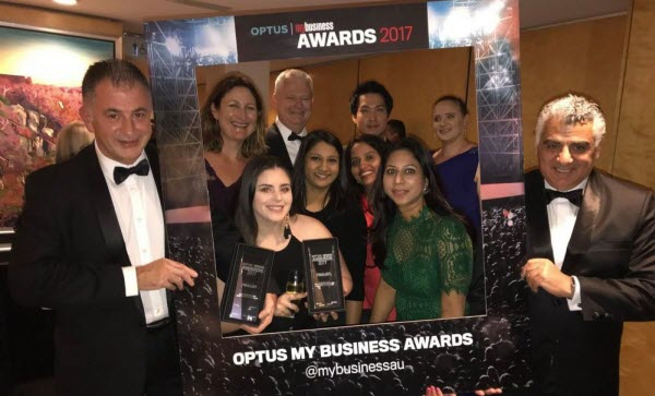 The Optus My Business Awards